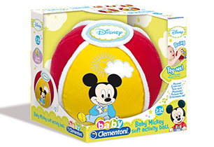 Clementoni Mickey Soft Activity Ball