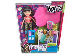 Bratz Selfie Stick With Doll