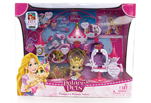 Disney Princess Palace Pets Pamper Spa Playset