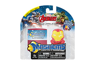 Mash'ems Marvel 1 Pack With Carry Case