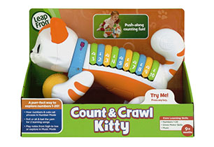 LeapFrog Count & Crawl Kitty