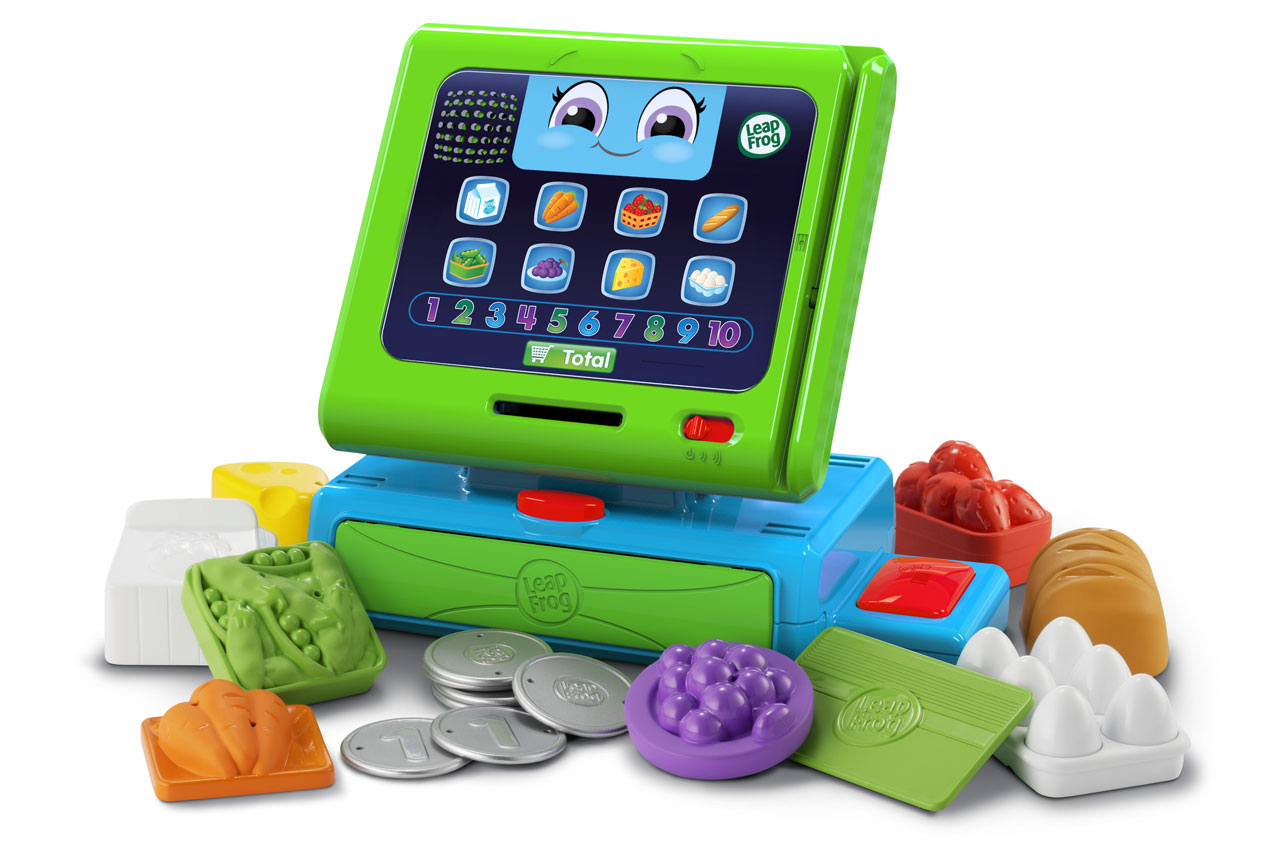 Electronic Toys For One Year Olds : Leapfrog count along register prima toys