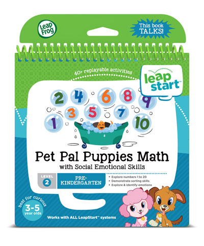 LeapStart Pet Pal Puppies Math