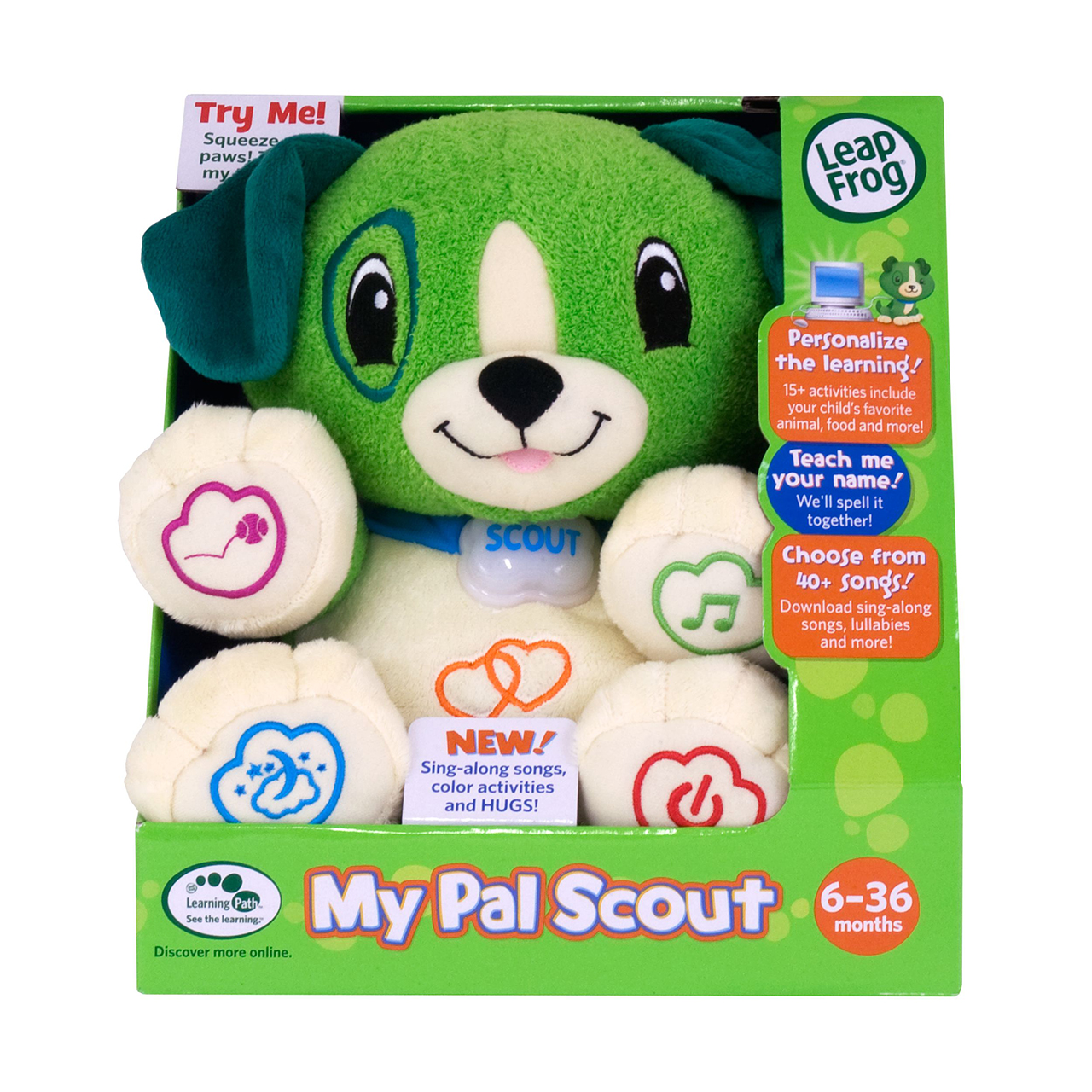 Leapfrog Scout My Puppy Pal Scout Leapfrog Prima Toys