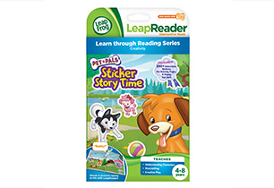 Leapreader Sw-Pet Pals Sticker Bk