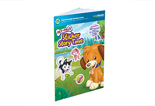 LeapReader - Pet Pals Sticker Book