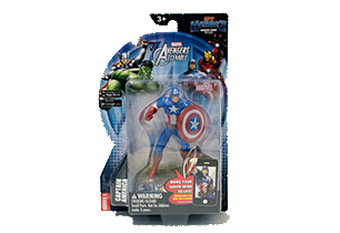 "4"" Marvel App Heroez Assorted"