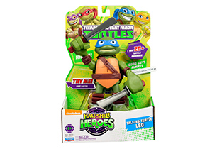 Teenage Mutant Ninja Turtles Half Shell Heroes 15cm Talking Turtle