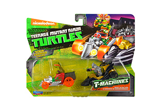Teenage Mutant Ninja Turtles - T-Machines Basic Vehicle 2 Pack