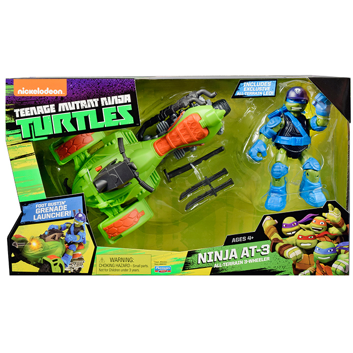 Turtle Toys For Boys : Teenage mutant ninja turtles vehicle plus figure