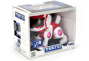 Tekno Puppy Dog Blue/Pink