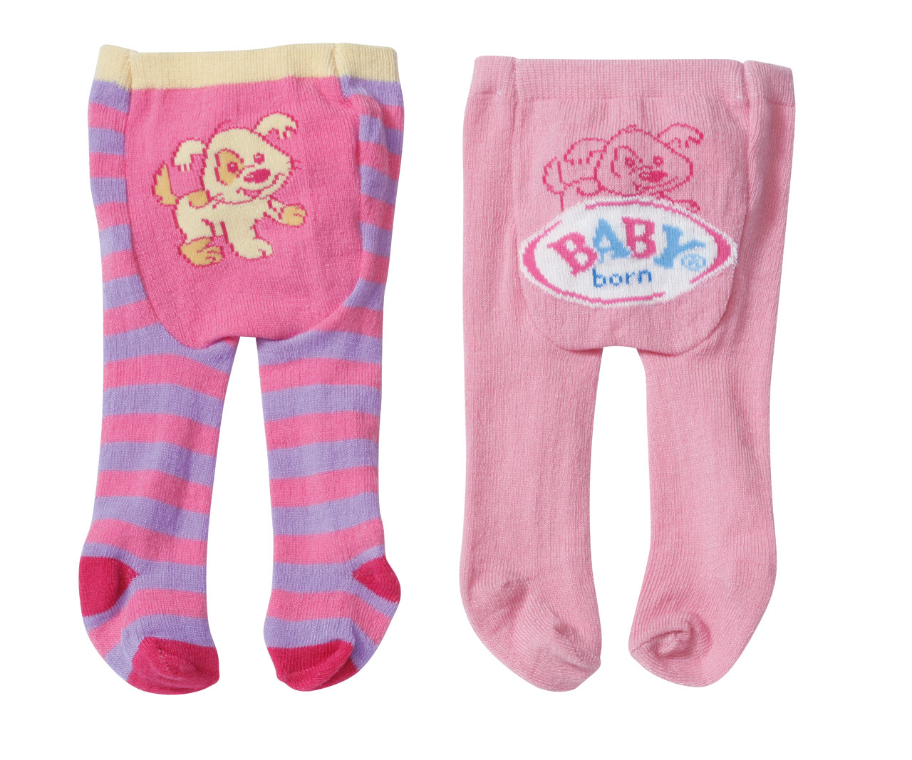 Baby Born Tights 2 Pairs Assorted Baby Born Prima Toys