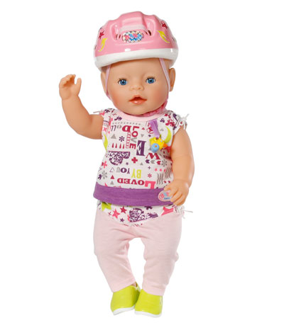 Baby Born Deluxe Safety Set With Helmet