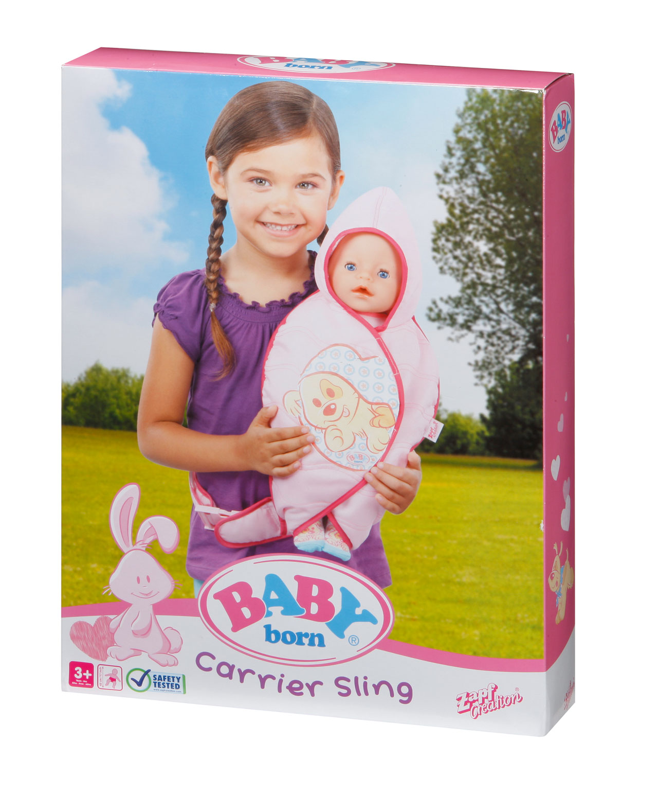 Baby Born Carrier Sling Bag Baby Born Prima Toys