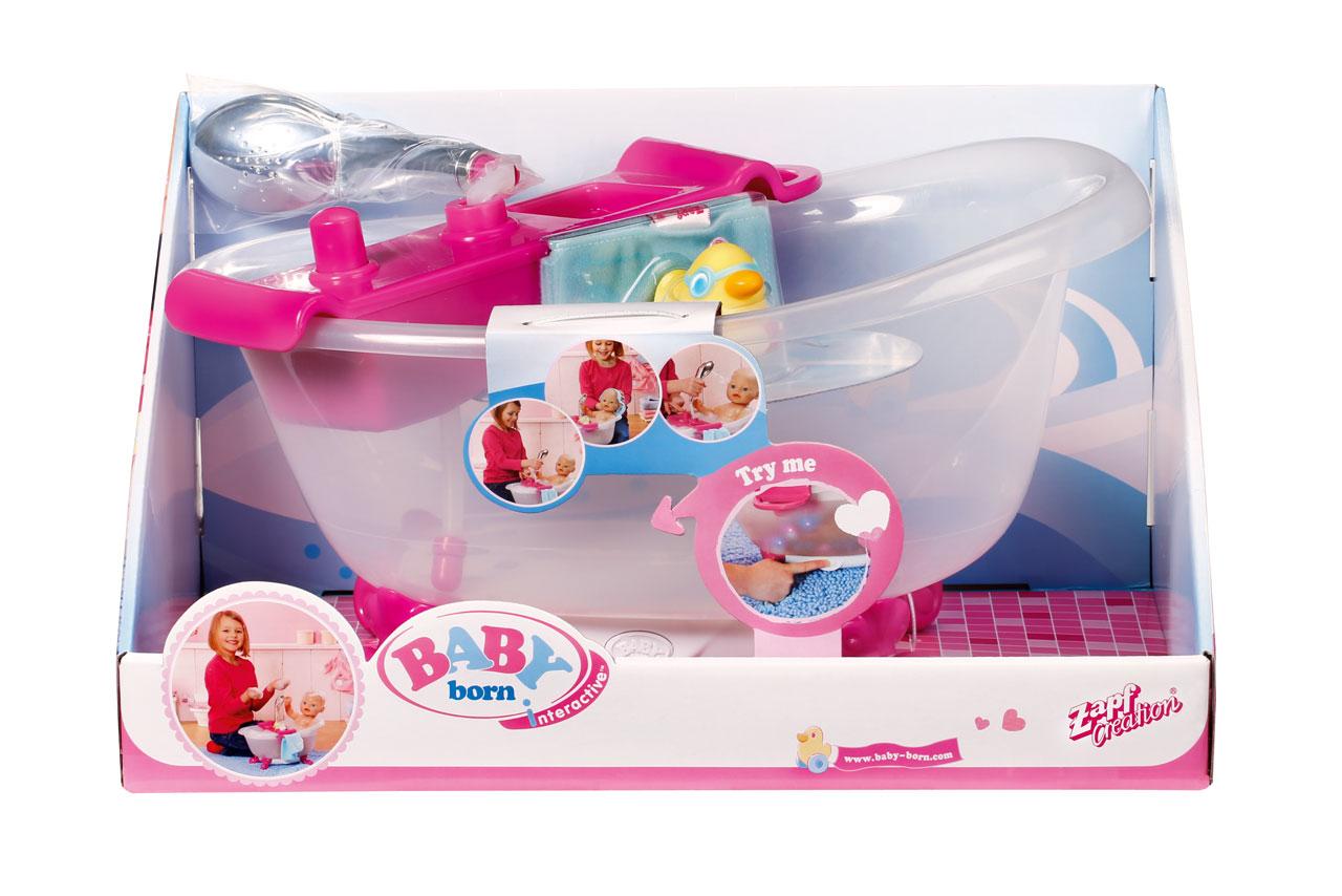 Baby Born Interactive Bathtub With Duck Baby Born