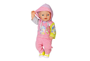 Baby Born Deluxe Jogging Set