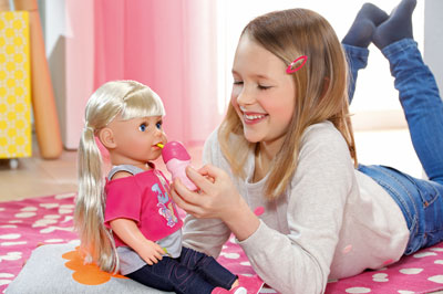 Baby Born Interactive Sister Doll Baby Born Prima Toys