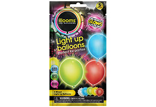 Ilooms Light Up Mixed Balloons