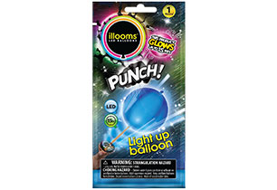 Ilooms Light Up Punch Balloon