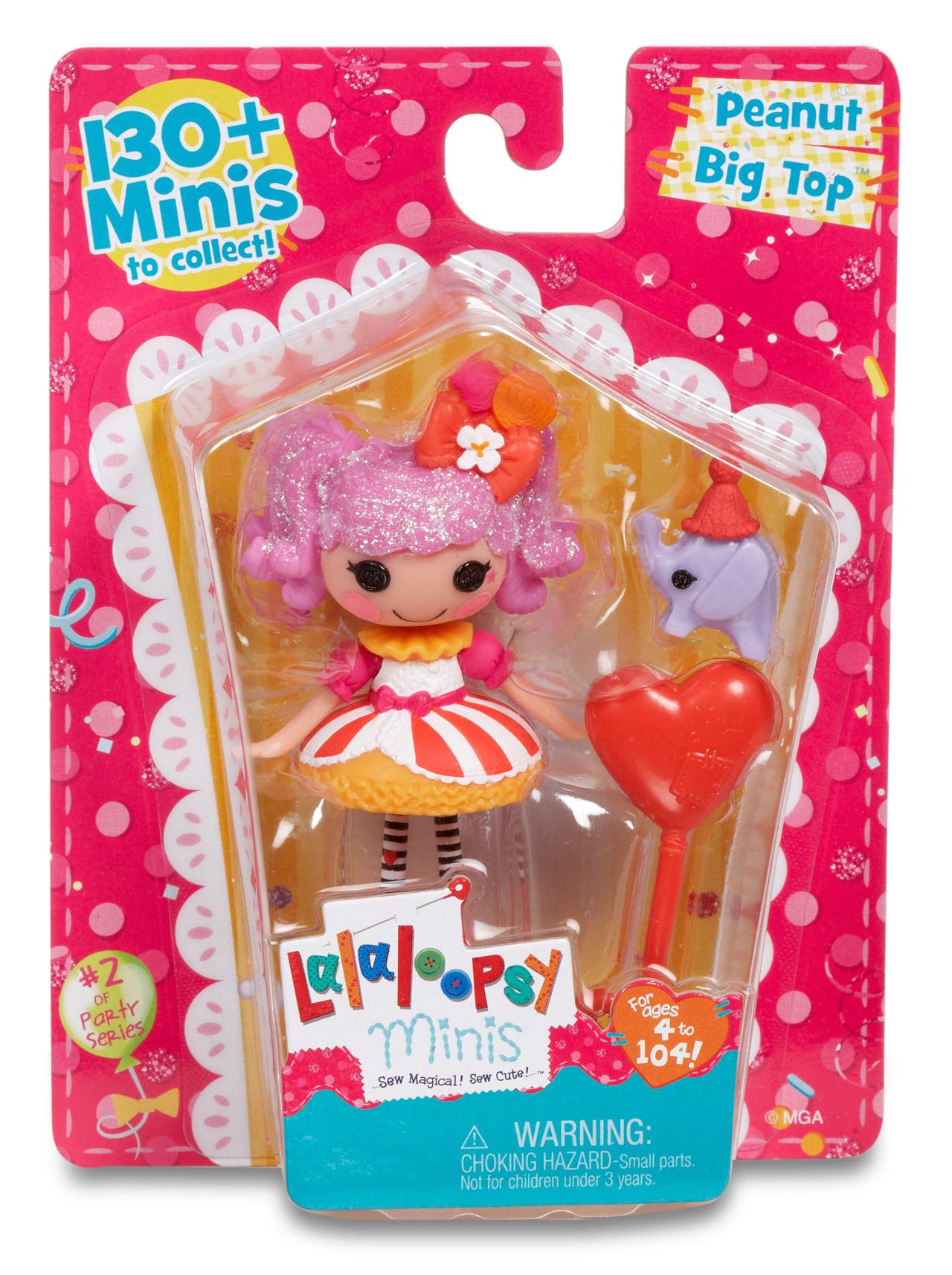 Lalaloopsy Mini Super Silly Doll Lalaloopsy Prima Toys