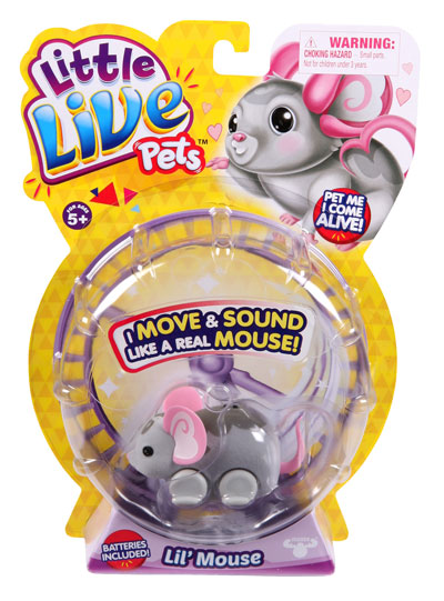 Little Live Pets Mice Single Pack (6 Assorted)