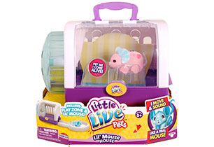Little Live Pets Glitzi House With Pet