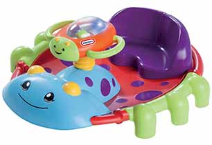 Little Tikes Activity Garden Rock & Spin