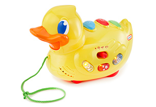 Little Tikes Sing 'N' Roll Ducky
