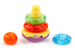 Little Tikes Lights 'N' Sound Stacker