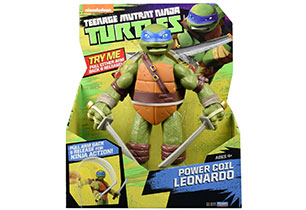 Teenage Mutant Ninja Turtles Power Coil 28cm Figures