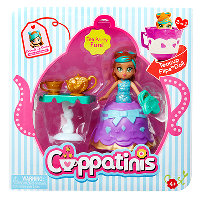Cuppatinis Dolls With Accessories