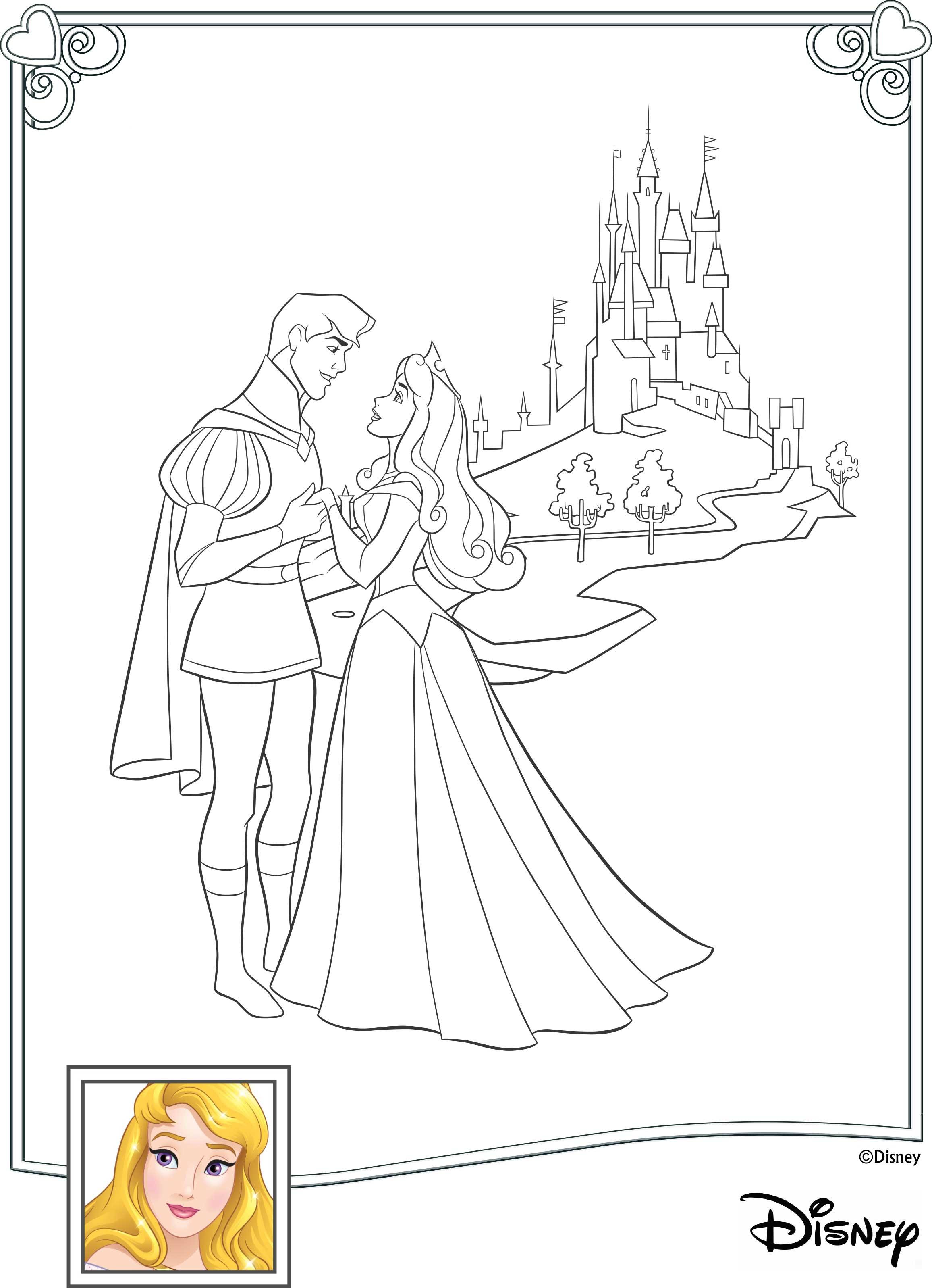 disney princess interactive coloring pages - photo#2