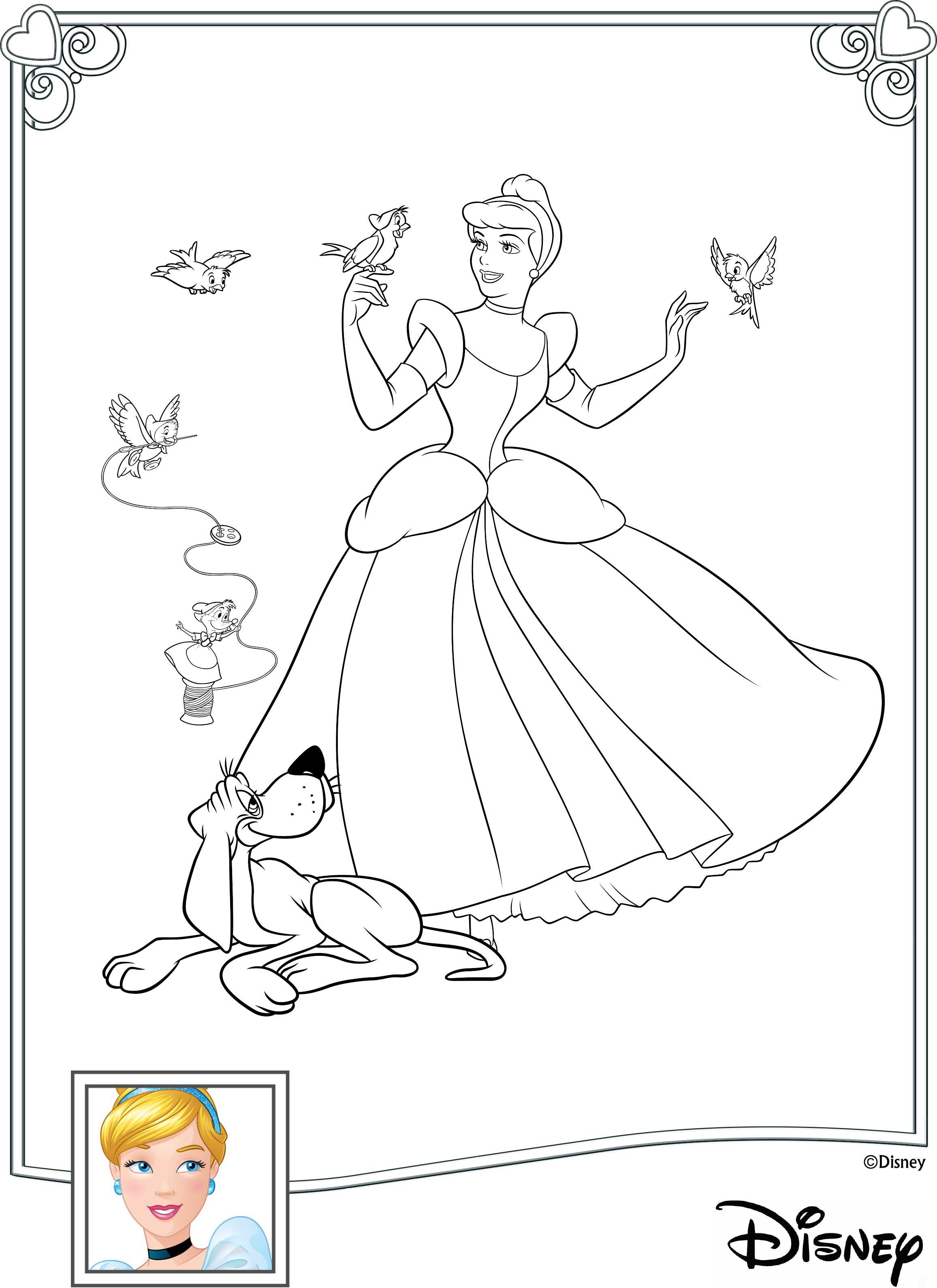 disney princess interactive coloring pages - photo#7