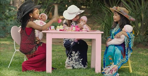 Baby Love Tea Party  Educational Baby Dolls : Commercial