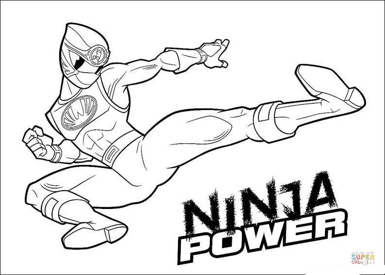 powerrangers zords vehicle coloring save the world ninja power - Blue Power Rangers Coloring Pages