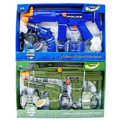 Police Force Gun Playset