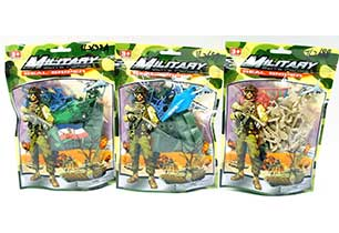 Soldiers Toys In Bag Assorted