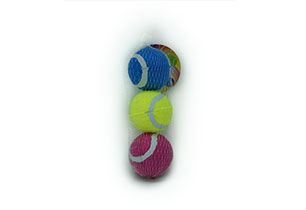 3 Pack Tennis Balls In Net Bag