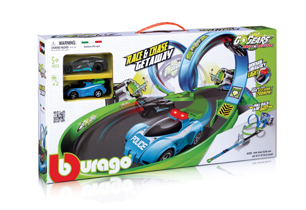 Bburago Go Gears Getaway Playset With 2 Cars