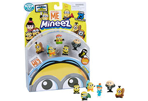 Despicable Me Deluxe Character 6 Pack