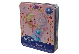 Frozen 48pc Puzzle In Tin