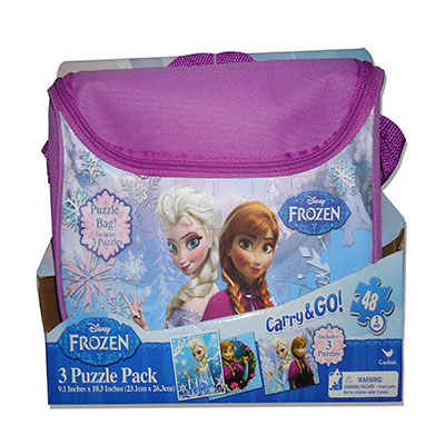 Frozen Carry and Go 3 Puzzle Pack