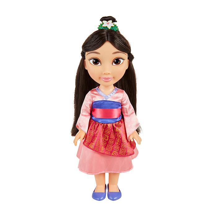 Disney Princess Toddler Doll With Dress: Mulan Toddler Doll With Lens Eye