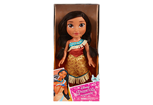 Pocahontas Toddler Doll With Lens Eye