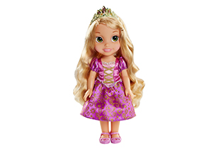 Rapunzel Toddler Doll With Lens Eye