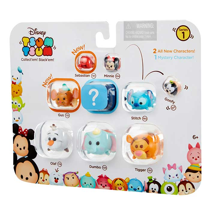 tsum tsum 9 pack figures disney tsum tsum prima toys. Black Bedroom Furniture Sets. Home Design Ideas