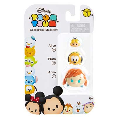 tsum tsum 3 pack figures disney tsum tsum prima toys. Black Bedroom Furniture Sets. Home Design Ideas