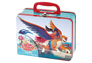 Elena Of Avalor Puzzle in Lunch Tin