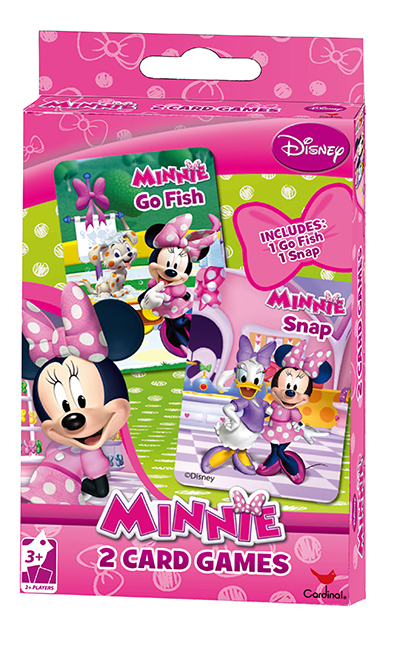 Disney Girls 2 Pack Playing Cards