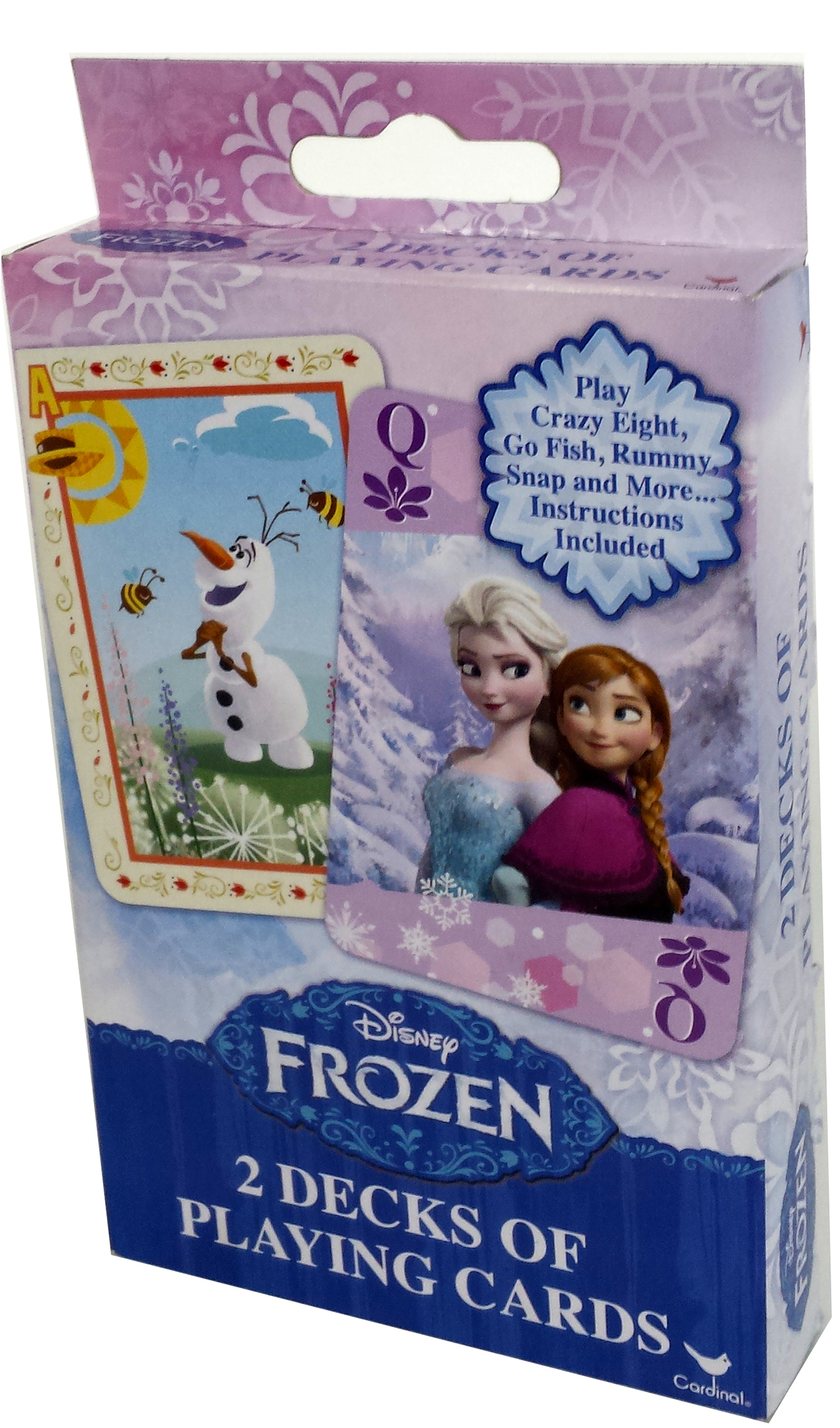 Frozen 2 Pack Playing Cards Disney Frozen Prima Toys